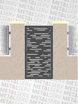 POARTA METALICA DE ACCES - MTSPP3